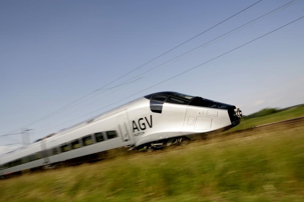 AGV von Alstom im Juni 2008 im Testzentrum Velim (Foto: Alstom Transport)