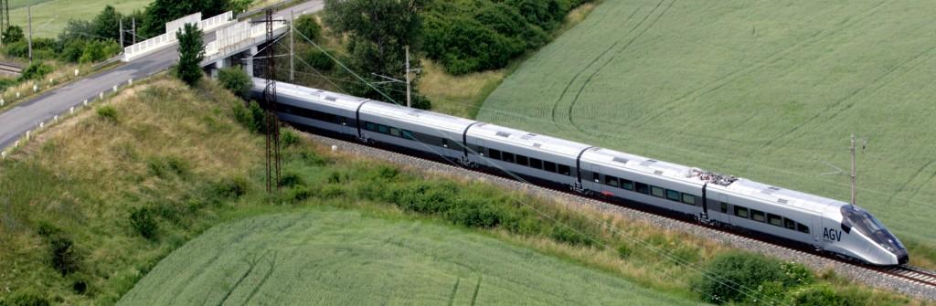 Auf der tschechischen Teststrecke (Foto: Alstom Transport)
