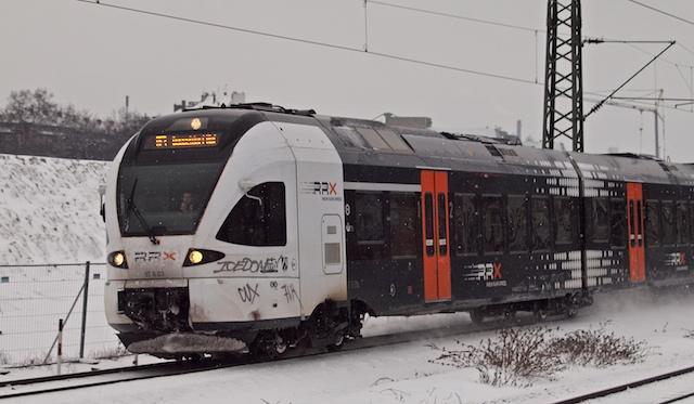 Eisenbahn-untauglich gestaltet und schon verdreckt: RRX-Designstudie (Foto: Weidelich)