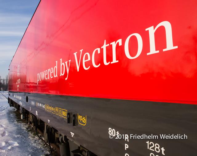 80 Tonnen schwer und ein Vectron